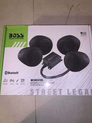 Boss Audio Motorcycle Speakers for Sale in Mesa, AZ