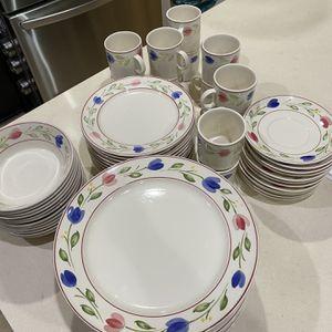 Nikko Tablemate Spring Tulip Dinnerware Set for Sale in Redmond, WA