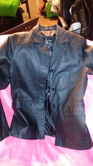 KC Collections Leather Coat for Sale in Dallas, TX