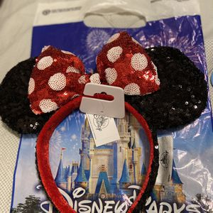 Disneyland Minnie Ears $18 Or Local $15 for Sale in Beverly Hills, CA