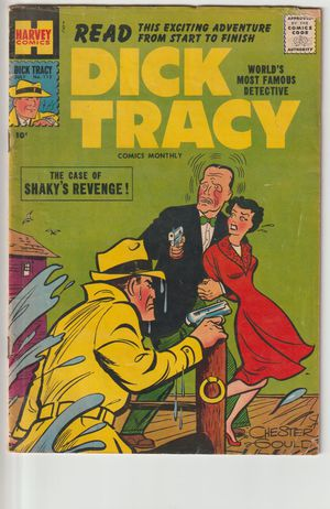 1957 Dick Tracy The Case of Shakys Revenge Comic Book Secret Canera Ad Daisy Air Rifle Ad kn1000 for Sale for sale  Southaven, MS