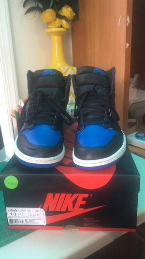Nike Air Jordan Retro 1 royals size 13 for Sale in Falls Church, VA
