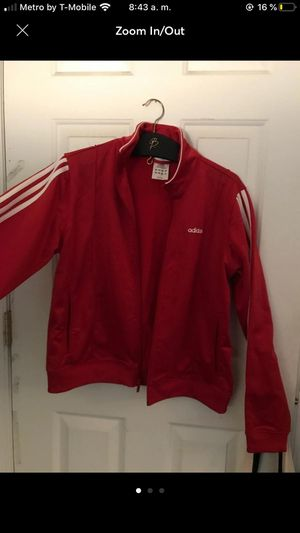 Red adidas track jacket for Sale in Phoenix, AZ