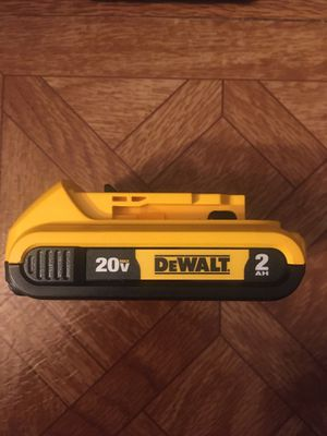 DeWalt. 20V MAX XR Lithium Ion 2.0Ah Battery Pack. DCB203. for Sale in Brooklyn, NY