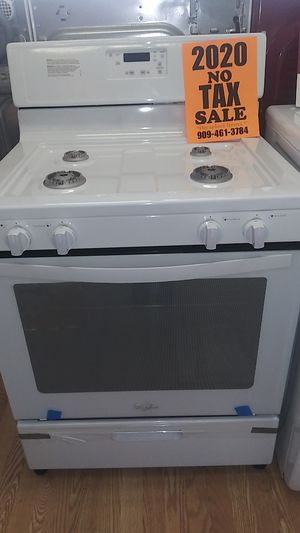 Whirlpool 4 Burner Range ⭐⭐New year new appliance in payments with 39 down no credit needed delivery available🚚 for Sale in Phillips Ranch, CA