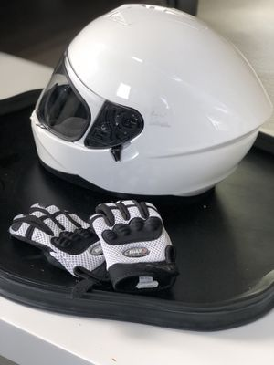 Motorcycle Helmet and gloves for girls for Sale in San Diego, CA