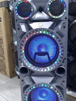 Brand New 15000 Watt Speaker Has Bluetooth Fm Am Great Sound Base Very Very Loud And Only For 280 Brand New Speaker In The Box for Sale in Phoenix,  AZ