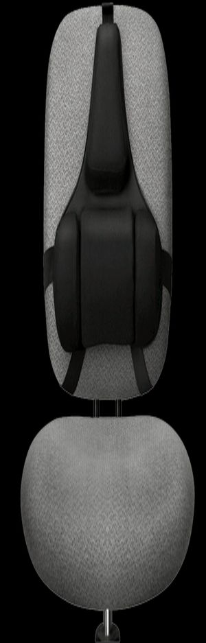 Back Support with Microban Protection, Memory Foam, Black (Fellowes) for Sale in Denver, CO