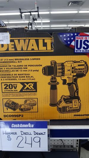 Dewalt hammer drill for Sale in Orlando, FL