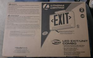 LED Exit/Unit Combo for Sale in Houston, TX