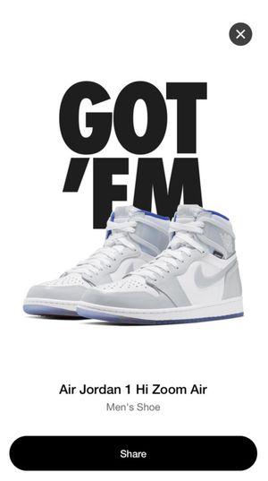Nike Air Jordan 1 Hi Zoom Air for Sale in Auburn, WA