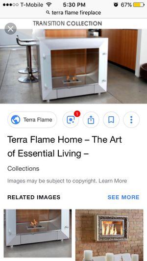 Terra flame fireplace for Sale in Salt Lake City, UT