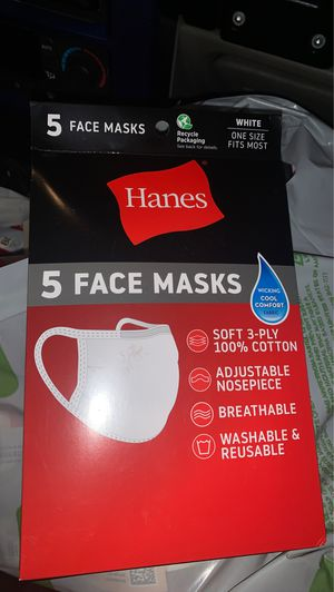 HANES FACE MASK for Sale in San Diego, CA