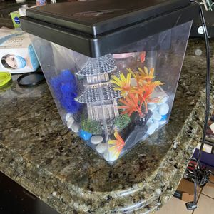 Fish tank Set, Bikes, Teepee, Train set, Glow in the dark lampshades for Sale in Fort Lauderdale, FL