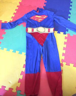 Super man costume kids size small for Sale in Fairfax, VA