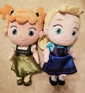 Frozen Elsa & Anna Baby Dolls for Sale in Spring, TX