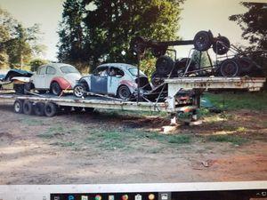 1988 Zieman 48 ft car hauler/material 5th Wheel trailer for Sale in Atlanta, GA