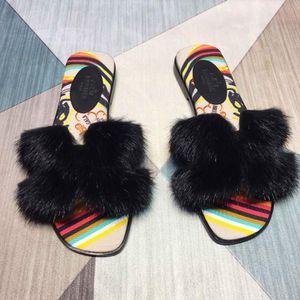 Hermes fur slides for Sale in Merrillville, IN