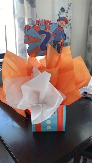 Blippi birthday decorations for Sale in Anaheim, CA