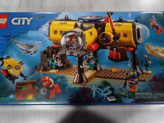 Lego City Ocean Exploration Base 60265 Building Kit 497 Pcs for Sale in Katy,  TX
