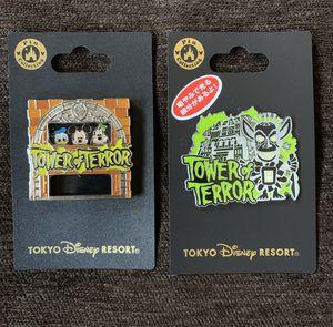 Tower of terror Tokyo Disney resort pins for Sale in Los Angeles, CA
