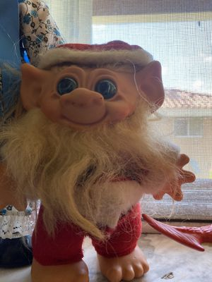 """Vintage Christmas Mrs Santa Claus Outfit Russ Troll 4"""" Figure Doll Toy for Sale in Doral, FL"""