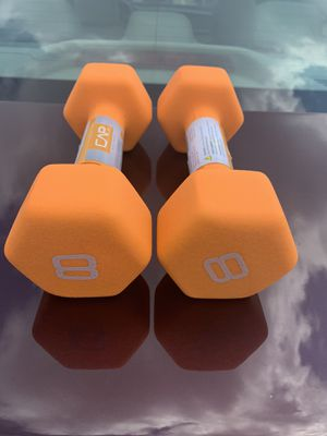 8lb dumbbells for Sale in St. Louis, MO