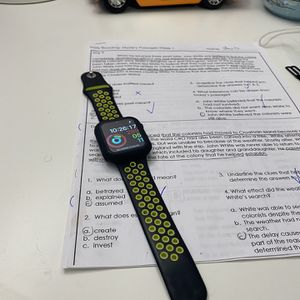 Apple watch series stainless steel 5 44mm great condition GPS+LTE for Sale in Fairfax, VA