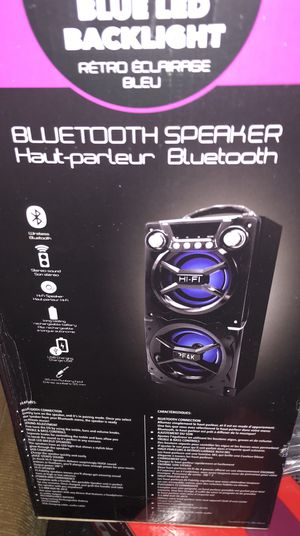 Sylvania Bluetooth speaker for Sale in Sauk Village, IL