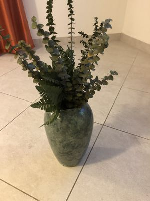 Fake plant with vase for Sale in Riverside, CA
