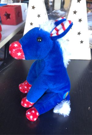 Patriotic Donkey Beanie Baby for Sale in Tacoma, WA
