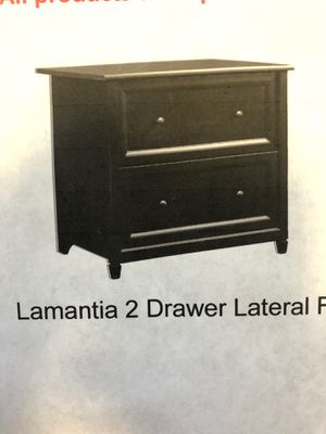 2 Drawer Lateral Filing Cabinet for Sale in CORONA DL MAR, CA