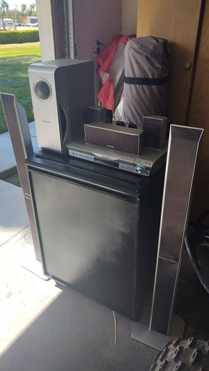 7 piece Panasonic DvD and CD player for Sale in Las Vegas, NV