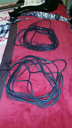 Guitar cables for Sale in Sanger, CA