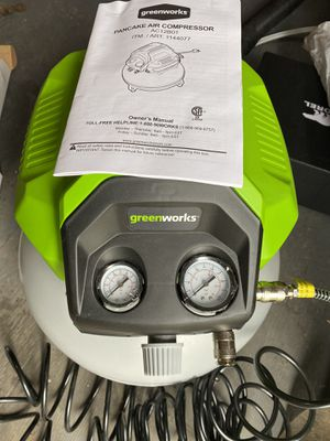 Compressor with nail / staple gun. for Sale in Portland, OR