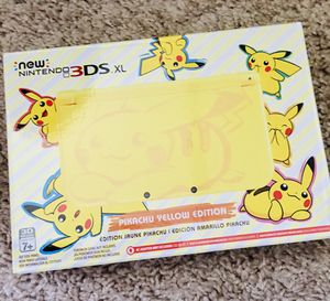 Nintendo 3DS XL Pikachu Yellow Edition- Brand New! for Sale in Schaumburg, IL