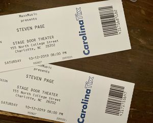 Steven Page Concert Tickets for Sale in Taylors, SC