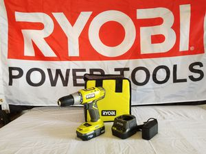 RYOBI 18V DRILL KIT ASKING $40 for Sale in Weslaco, TX