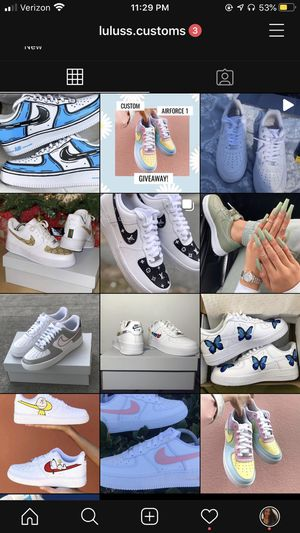Custom Shoes for Sale in Stockton, CA