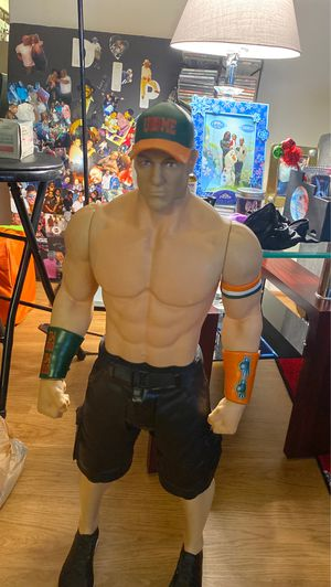"Large John cena wwe gaunt action figure 31"" tall Tall doll for Sale in UNIVERSITY PA, MD"