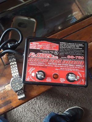 Electric fence energizer for Sale in Cashmere, WA