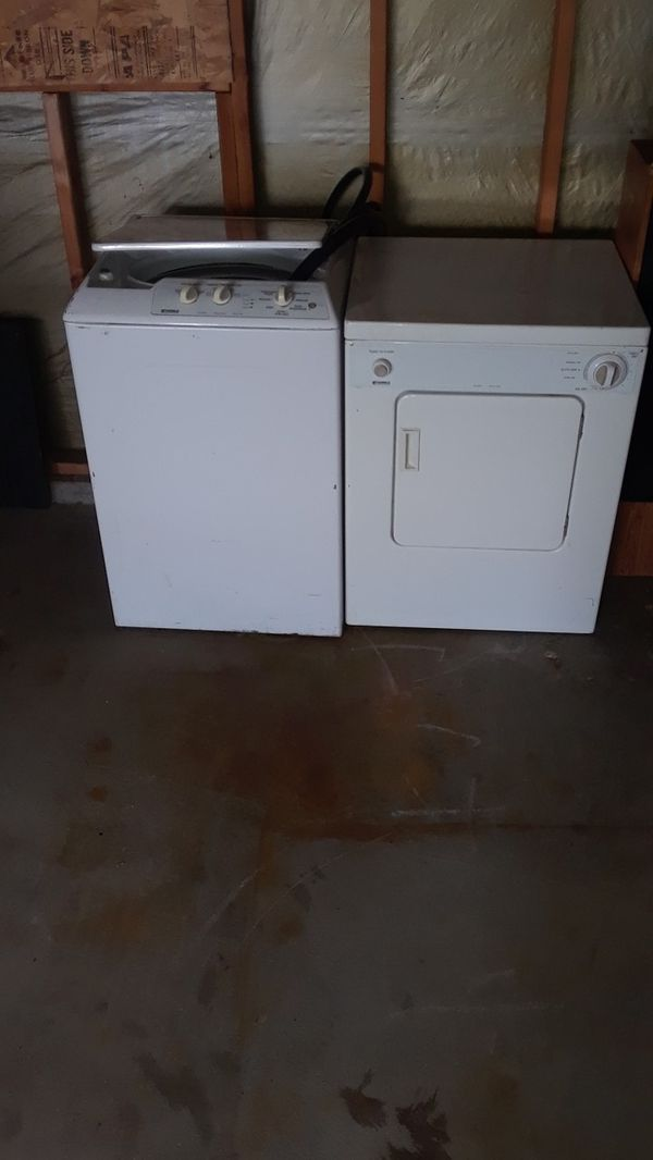 Kenmore washer and dryer apartment size