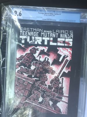 TMNT #1 comic book second print for Sale in New York, NY