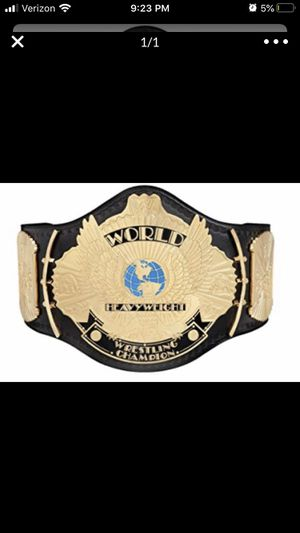WWE winged eagle title for Sale in Framingham, MA
