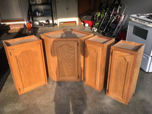 Kitchen Cabinets set of 4 for Sale in Edwardsville, IL