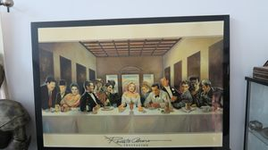 Hollywood The Last Supper Art Print Renato Casaro Invitation for Sale in Artesia, CA