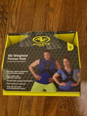 Athletic 8lb weighted vest for Sale in Kingsport, TN