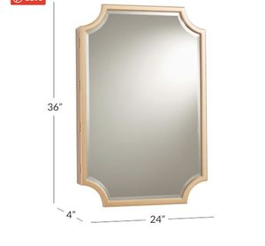 Pottery Barn Jewelry Mirror/ Safe (Gold) for Sale in Mililani, HI