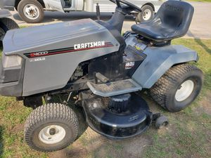 Craftsman 42inch tractor riding mower. for Sale in Itasca, IL