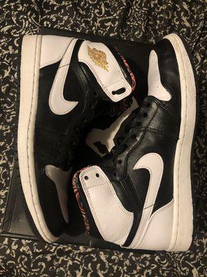Jordan 1 black and white for Sale in San Marino, CA